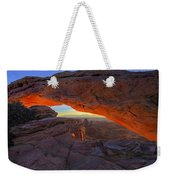 Dawns Early Light Weekender Tote Bag by Mike  Dawson