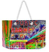 Day At The Market Weekender Tote Bag