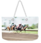 Day At The Races Weekender Tote Bag