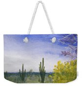 Day In Arizona Desert Weekender Tote Bag