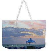 Day Is Done Weekender Tote Bag by Lea Novak