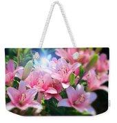 Day Light Lilies Weekender Tote Bag