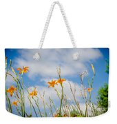 Day Lilies Look To The Sky Weekender Tote Bag