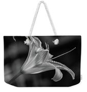 Day Lily 2 Bw Weekender Tote Bag