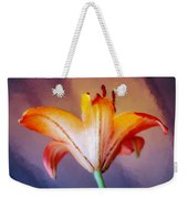 Day Lily Back Weekender Tote Bag