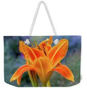 Day Lily Bright Weekender Tote Bag