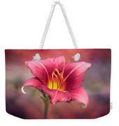 Day Lily Deep Weekender Tote Bag