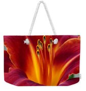 Day Lily Weekender Tote Bag