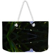 Day Lily Reflection Weekender Tote Bag
