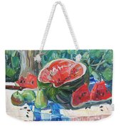 Day Of A Water-melon Weekender Tote Bag