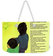 Day Of Hope Weekender Tote Bag