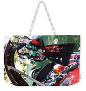 Day Of The Dead Car Trunk Skeleton  Weekender Tote Bag
