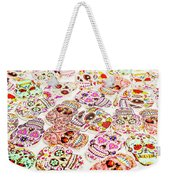 Day Of The Dead Colors Weekender Tote Bag