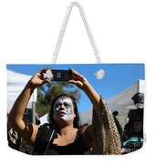 Day Of The Dead Iphone Woman Weekender Tote Bag