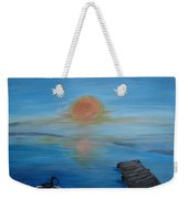 Day Out Fishing Weekender Tote Bag