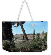 Day Walk In Jerusalem Weekender Tote Bag