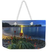 Daybreak And Cloudy Seascape And Aloe Vera Weekender Tote Bag
