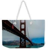 Daybreak At The Golden Gate Weekender Tote Bag
