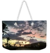 Daybreak Sky In Florida Weekender Tote Bag