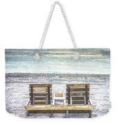 Daydreaming By The Sea In Watercolors Weekender Tote Bag