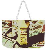 Days From The Vintage Post Office Weekender Tote Bag