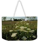 Days Of Queen Annes Lace Weekender Tote Bag
