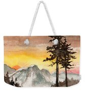 Day's Passing Weekender Tote Bag