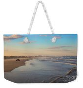 Daytona Beach At Sunset, Florida Weekender Tote Bag