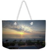 Daytona Beach Sunrise Weekender Tote Bag