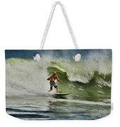 Daytona Beach Surfing Day Weekender Tote Bag