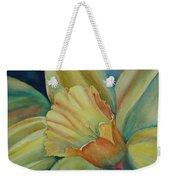 Dazzling Daffodil Weekender Tote Bag