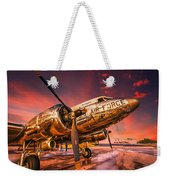 Dc-3 In Surreal Evening Light Weekender Tote Bag
