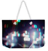 Dc Lights - Use Red-cyan 3d Glasses Weekender Tote Bag