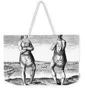 De Bry, Roanoke Native American Weekender Tote Bag
