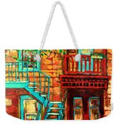 De Bullion Street Girls Weekender Tote Bag