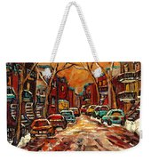 De Bullion Street Montreal Weekender Tote Bag