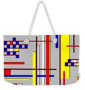 De Stijl Love Weekender Tote Bag