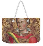 Deacon Saint, With Saint Anthony Abbot Weekender Tote Bag