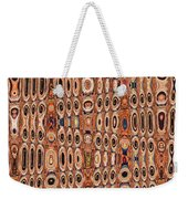 Dead Agave Stump Abstract Weekender Tote Bag
