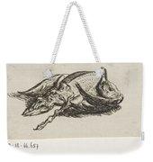 Dead Duck, Jacob Elias Van Varelen, After Jacob De Gheyn II, 1821 Weekender Tote Bag
