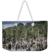 Dead Lakes Cypress Stumps Weekender Tote Bag