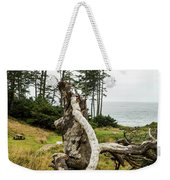 Dead Tree At Ecola Park Weekender Tote Bag