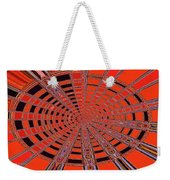 Dead Tree Oval #1 Abstract Weekender Tote Bag