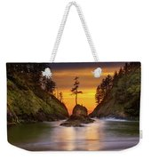 Deadman's Cove At Cape Disappointment State Park Weekender Tote Bag