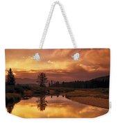 Deadwood River Sunrise Weekender Tote Bag