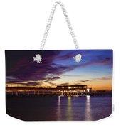 Deal Pier Weekender Tote Bag