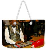 Dealer In Las Vegas Casino Weekender Tote Bag