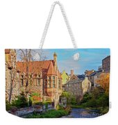 Dean Village, Edinburgh, Scotland Weekender Tote Bag