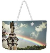 Death And A Rainbow Weekender Tote Bag