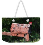 Death By E Mail Weekender Tote Bag